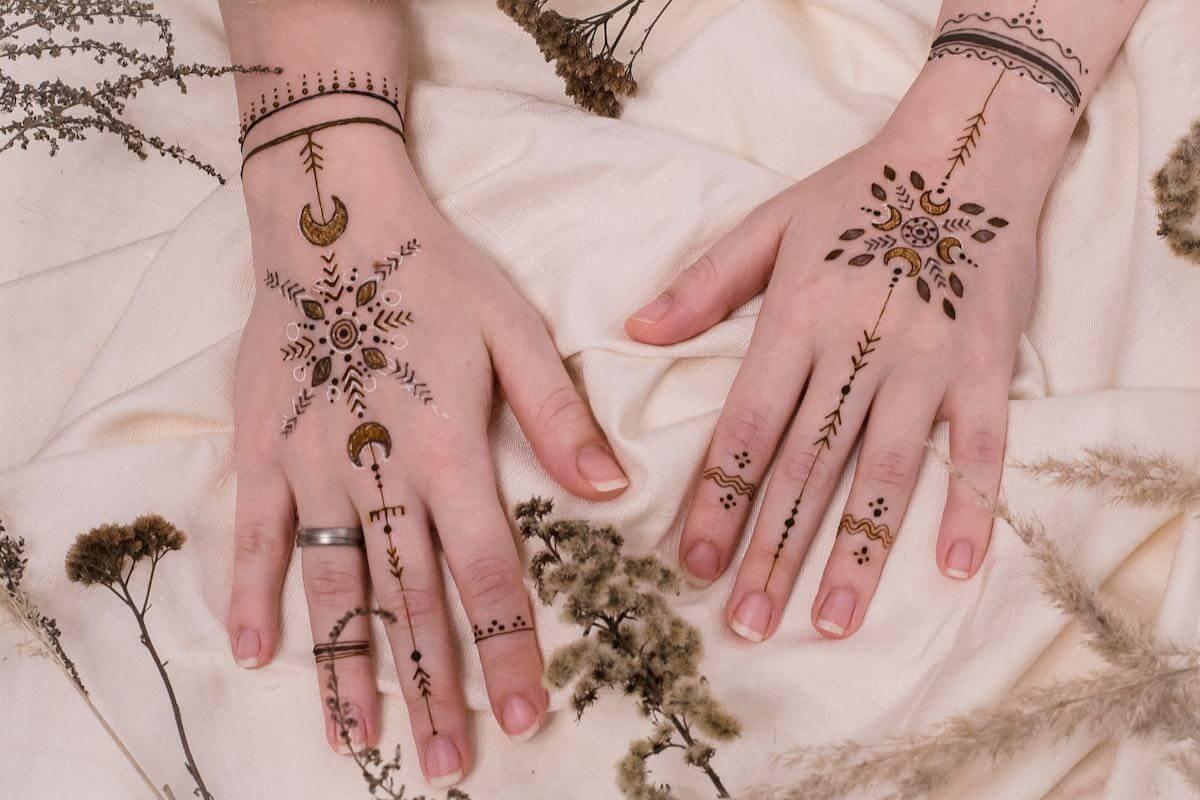 Warsztaty malowanie henna Henna Hygge