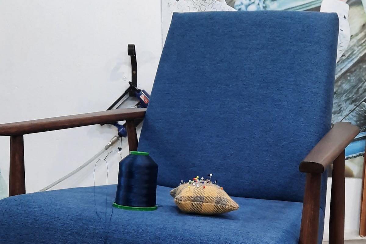 Warsztaty renowacji mebli nauka tapicerowania Pomaluj Mebel