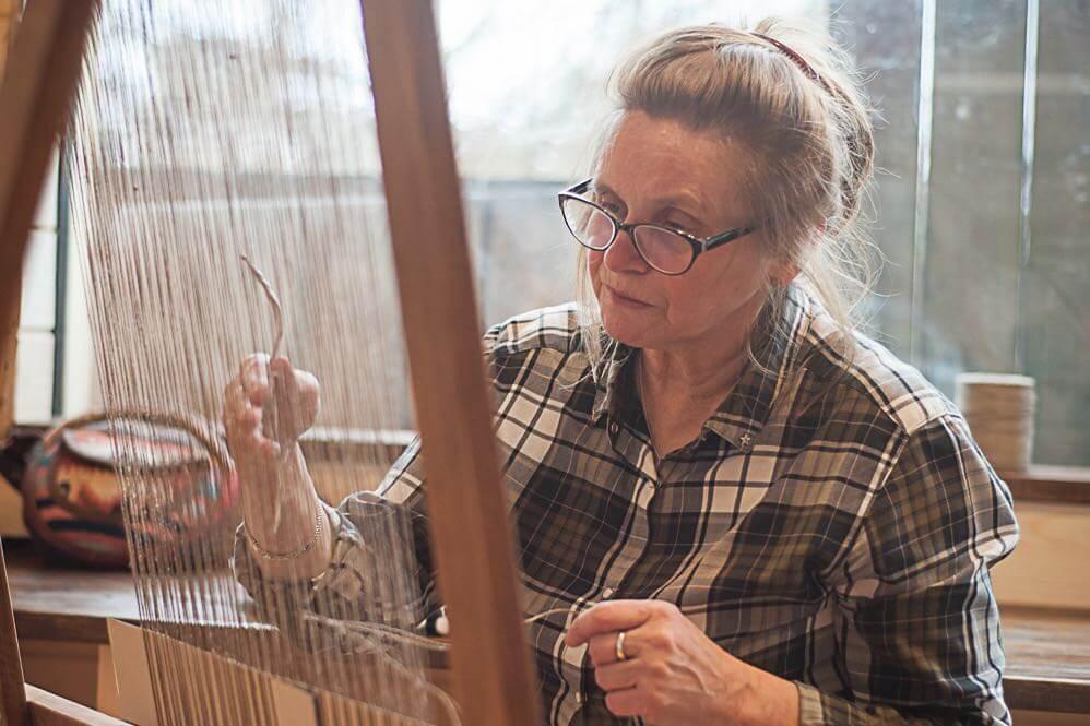 Warsztaty tkackie warsztat tkacki Alicja w krainie drewna